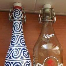 Coleccionismo Otros Botellas y Bebidas: LOTE DOS BOTELLAS LA CASERA. Lote 178779006