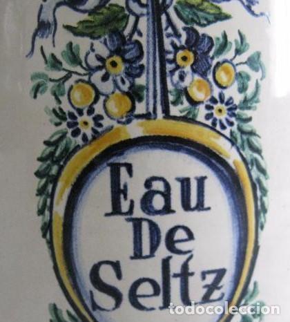 Coleccionismo Otros Botellas y Bebidas: BOTELLA PORCELANA EAU DE SELZT - Foto 2 - 179059991