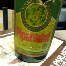 Coleccionismo Otros Botellas y Bebidas: PIPERMINT, EMBOTELLADO POR AMBROSIO PLAZO, PAMPLONA. Lote 179190918