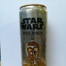 Coleccionismo Otros Botellas y Bebidas: STAR WARS SPACE PUNCH ENERGY CANETTE, 355ML COLLECTORS CAN # 6 3-CPO. Lote 180201075