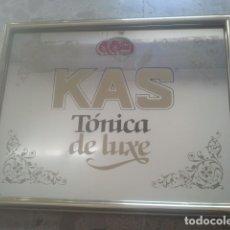 Coleccionismo Otros Botellas y Bebidas: KAS - TÓNICA DE LUXE - ANTIGUO ESPEJO PUBLICITARIO - IDEAL DECORACIÓN . Lote 180342162
