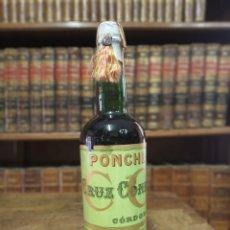 Coleccionismo Otros Botellas y Bebidas: BOTELLA DE PONCHE. MARCA CRUZ CONDE. PRECINTADA. CÓRDOBA. JERÉZ DE LA FRONTERA. 30 CM.. Lote 180425416