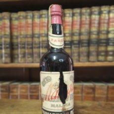 Coleccionismo Otros Botellas y Bebidas: BOTELLA DE MÁLAGA. MARCA GUILLERMO REIN. PRECINTADA. 31 CM. . Lote 180425746