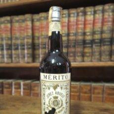 Coleccionismo Otros Botellas y Bebidas: BOTELLA DE JERÉZ. ABUELO. MARQUÉS DE MÉRITO. JERÉZ DE LA FRONTERA. PRECINTADA. .32 CM.. Lote 180426030