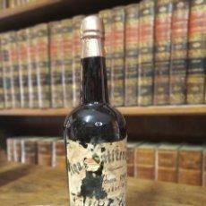 Coleccionismo Otros Botellas y Bebidas: BOTELLA DE MANZANILLA. ENRIQUE GUTIERREZ. SANLUCAR DE BARRAMEDA. PRECINTADA. 29 CM.. Lote 180426143