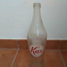 Coleccionismo Otros Botellas y Bebidas: BOTELLA LITRO KAS, SERIGRAFIADA. Lote 181357528