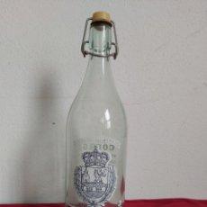Coleccionismo Otros Botellas y Bebidas: BOTELLA GASEOSA FONTE ROCA XINZO PONTEAREAS. Lote 181565773