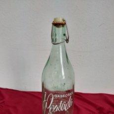 Coleccionismo Otros Botellas y Bebidas: BOTELLA GASEOSA J POUSADA SEIXO MARIN. Lote 181566371