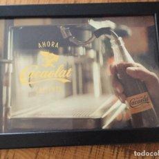 Coleccionismo Otros Botellas y Bebidas: CACAOLAT - PÓSTER FOLLETO PUBLICIDAD -ENMARCADO . Lote 182171685