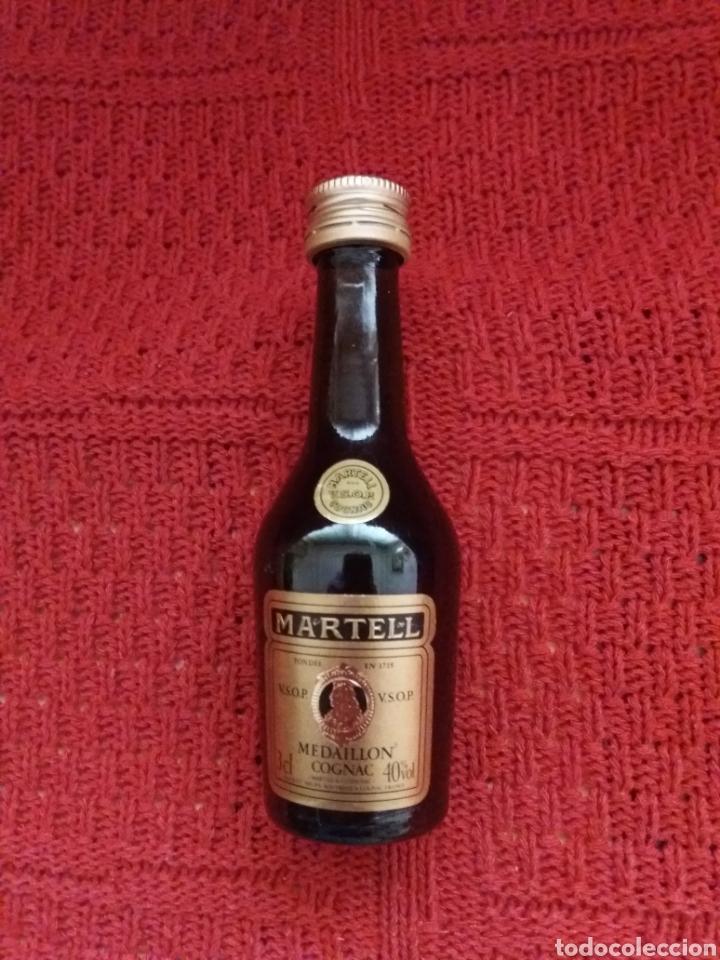 BOTELLIN COÑAC-MARTELL MEDAILLON- (Coleccionismo - Otras Botellas y Bebidas )