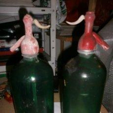 Coleccionismo Otros Botellas y Bebidas: DOS ANTIGUOS SIFONES . Lote 183423098
