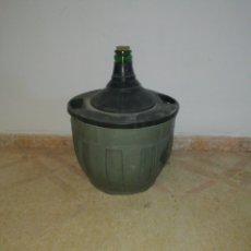 Coleccionismo Otros Botellas y Bebidas: GARRAFA DE VINO. Lote 183528726