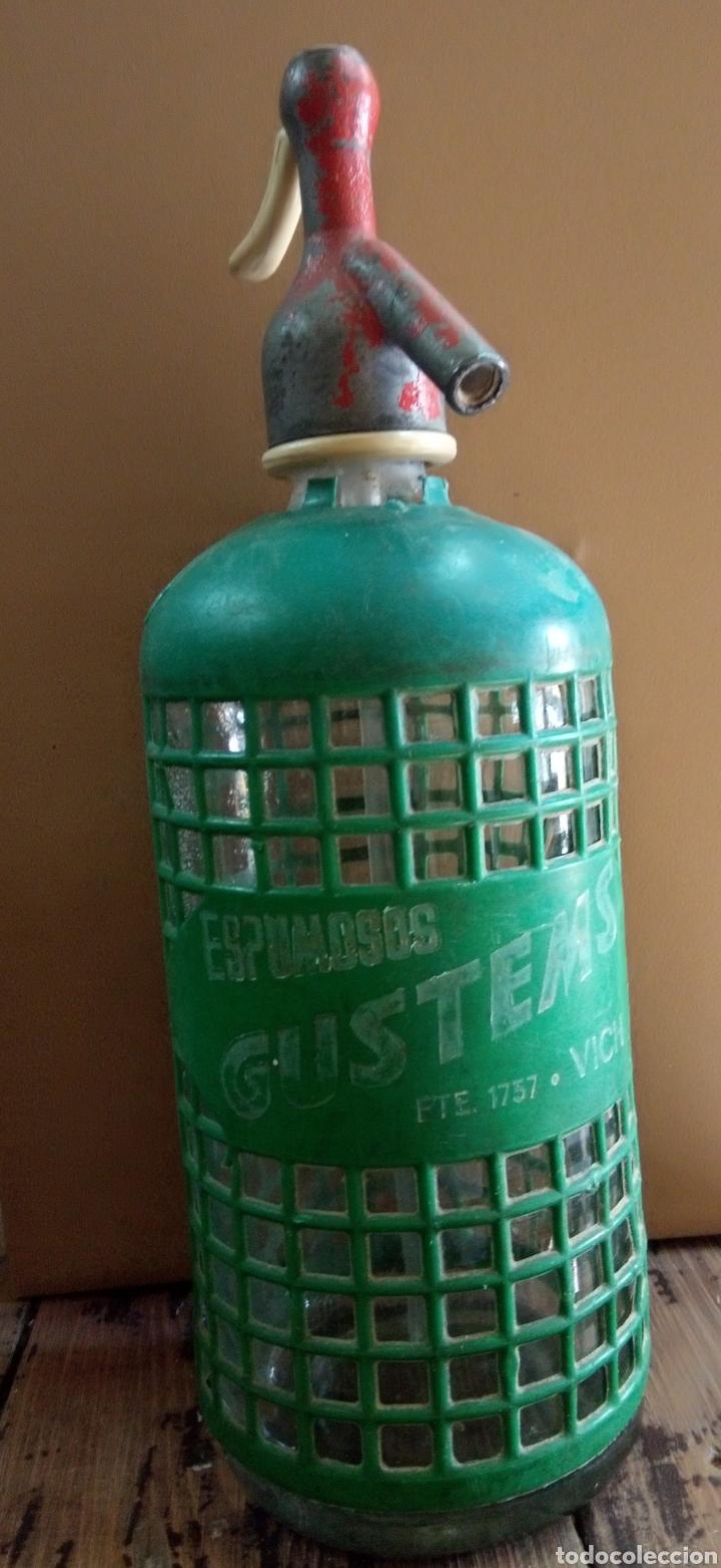 SIFÓN ESPUMOSOS GUSTEMS (Coleccionismo - Otras Botellas y Bebidas )