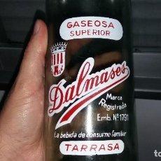 Coleccionismo Otros Botellas y Bebidas: BOTELLA DE GASEOSA DALMASES TARRASA CATALUÑA N° 1791 . Lote 184329418