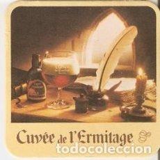 Coleccionismo Otros Botellas y Bebidas: POSAVASOS. CUVEE DE L'ERMITAGE. REF. 12-609. Lote 184525048