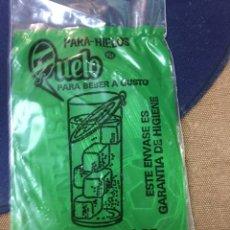 Coleccionismo Otros Botellas y Bebidas: QUELO PARA HIELOS - EL CORTE INGLES - FUTBOL MUNDIAL ESPAÑA 85 - SIN ABRIR. Lote 186800986