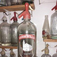Coleccionismo Otros Botellas y Bebidas: SIFÓN VILLA DE URDA TOLEDO. Lote 189229912