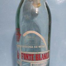 Coleccionismo Otros Botellas y Bebidas: GASEOSA FONTE BLANCA VALLADOLID.. Lote 190039323