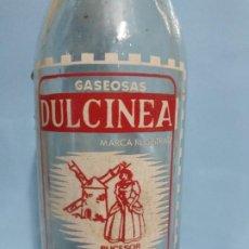 Coleccionismo Otros Botellas y Bebidas: GASEOSA DULCINEA CIUDAD REAL VALDEPEÑAS.. Lote 190040400