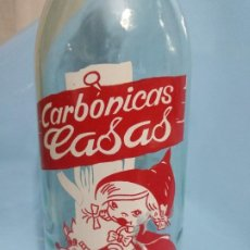 Coleccionismo Otros Botellas y Bebidas: GASEOSA CARBÓNICAS CASAS TORA.. Lote 190041163