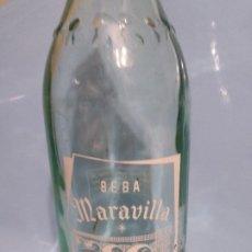 Coleccionismo Otros Botellas y Bebidas: GASEOSA BEBA MARAVILLA.. Lote 190042386
