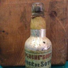Coleccionismo Otros Botellas y Bebidas: ANTIGUO BOTELLIN PONCHE. JOSE DE SOTO JEREZ. Lote 190130610