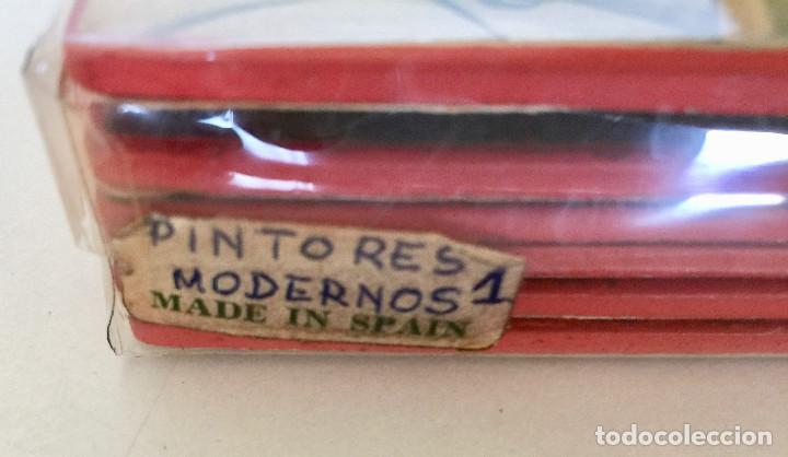 Coleccionismo Otros Botellas y Bebidas: 6 POSAVASOS MADERA-DIBUJOS PINTORES MODERNOS-FIELTRO DEBAJO-VINTAGE-BOTELLA VINO-PICASSO, MATISSE,.. - Foto 8 - 190636892