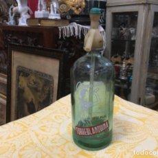 Coleccionismo Otros Botellas y Bebidas: BOTELLA DE SIFÓN , DE TORREBLANCA (CASTELLÓN) - TORREBLANQUINA . Lote 190702696