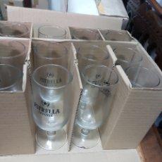 Coleccionismo Otros Botellas y Bebidas: CAJA COPAS CERVEZA ESTRELLA LEVANTE 300CC. Lote 191060542