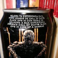 Coleccionismo Otros Botellas y Bebidas: LATA MONSTER ENERGY, CALL OF DUTY BLACK OPS 3. 500ML CAN BEBIDA ENERGÉTICA LLENA. Lote 191111585