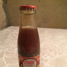Coleccionismo Otros Botellas y Bebidas: ANTIGUA BOTELLA DE JUGO DE FRUTAS MARCA FRUCO NECTAR DE MELOCOTÓN AÑOS 80 SIN ESTRENAR. Lote 191177775