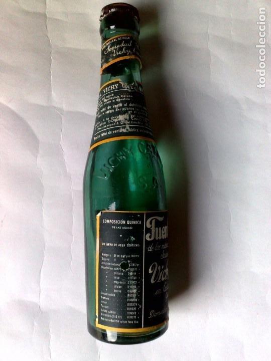 Coleccionismo Otros Botellas y Bebidas: BOTELLA ANTIGUA DE VICHI CATALÁN,FUENTE ESTRELLA,CALDAS DE MALAVELLA,GERONA,SIN ABRIR (DESCRIPCIÓN) - Foto 5 - 192046405