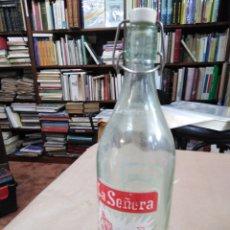 Coleccionismo Otros Botellas y Bebidas: BOTELLA DE GASEOSA LA SEÑERA VALENCIANA. Lote 192117801