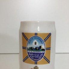 Coleccionismo Otros Botellas y Bebidas: JARRA DE CERVEZA ALHAMBRA - 12CM. Lote 192932452