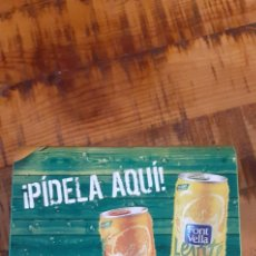 Coleccionismo Otros Botellas y Bebidas: FONT VELLA LEVITE - SERVILLETERO - AGUA GIRONA. Lote 193808898