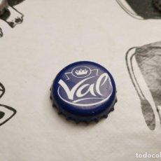 Coleccionismo Otros Botellas y Bebidas: CHAPA AGUA MINERAL NATURAL VAL (BL). Lote 194222930