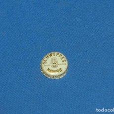 Coleccionismo Otros Botellas y Bebidas: (D37) TAPON CHAPA CORONA - SCHWEPPES NARANJA , SEÑALES DE USO. Lote 194289160