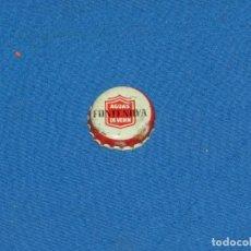 Coleccionismo Otros Botellas y Bebidas: (D44) TAPON CHAPA CORONA - AGUAS DEVERIN FONTENOVA , SEÑALES DE USO. Lote 194302843