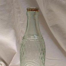 Coleccionismo Otros Botellas y Bebidas: LA GREMIAL SA GASEOSAS LERIDA ZARAGOZA BOTELLA CRISTAL AÑOS 20 LETRAS RELIEVE DE 33 CL, BUEN ESTADO. Lote 194321938
