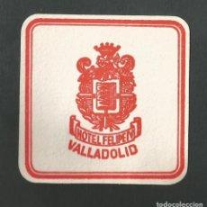 Coleccionismo Otros Botellas y Bebidas: POSAVASO HOTEL FELIPE IV VALLADOLID. Lote 194343291