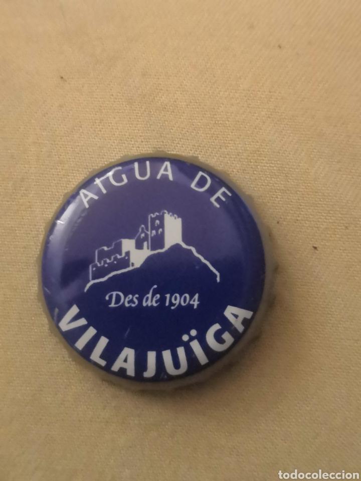 CHAPA AGUA DE VILAJUIGA (U) (Coleccionismo - Otras Botellas y Bebidas )