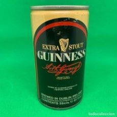 Coleccionismo Otros Botellas y Bebidas: LATA CERVEZA GUINESS - EXTRA STOUT/ CAN BEER . Lote 194509796