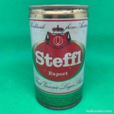 Coleccionismo Otros Botellas y Bebidas: ANTIGUA LATA CERVEZA STEFFL EXPORT/ CAN BEER. Lote 194510145