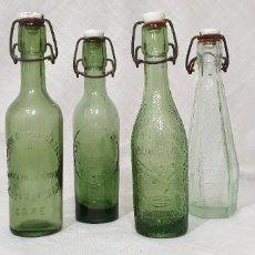 Coleccionismo Otros Botellas y Bebidas: GASEOSAS PEQUEÑAS LOTE DE 4. Lote 194543845
