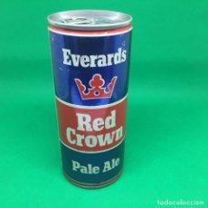 Coleccionismo Otros Botellas y Bebidas: LATA DE CERVEZA RED CROWN GRAN BRETAÑA / CAN BEER UK . Lote 194599230