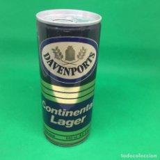 Coleccionismo Otros Botellas y Bebidas: LATA DE CERVEZA DAVENPORTS CONTINENTAL LAGER GRANBRETAÑA/ CAN BEER UK . Lote 194601046