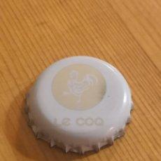 Coleccionismo Otros Botellas y Bebidas: CHAPA CROWN CAP LE COQ. Lote 194645183