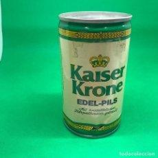 Coleccionismo Otros Botellas y Bebidas: LATA DE KAISER KRONE EDEL PILS -ALEMANIA / CAN BEER GERMANY . Lote 194719246