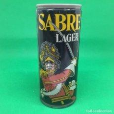 Coleccionismo Otros Botellas y Bebidas: LATA DE CERVEZA SABRE LAGER 440ML- REINO UNIDO / CAN BEER UK . Lote 194725113