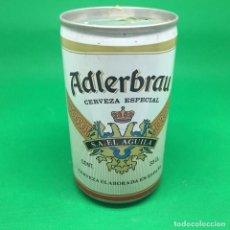 Coleccionismo Otros Botellas y Bebidas: LATA DE CERVEZA ADLERBRAU S.A. EL AGUILA - ESPAÑA/ CAN BEER SPAIN. Lote 194783903